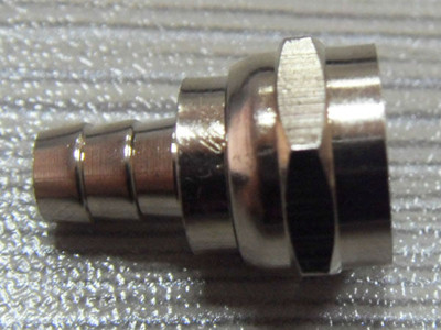 F Male Straight Connector