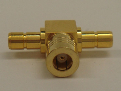 SMB Tee Type Coaxial Connector